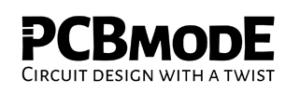 PCBmodE web